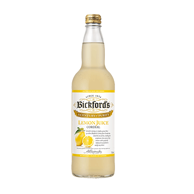 Bickfords Cordial Lemon