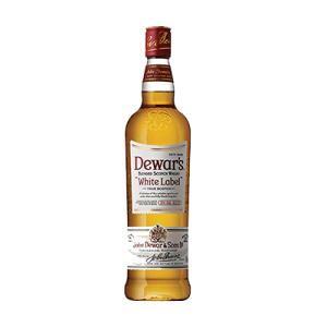 Whiskey Dewars White Lable