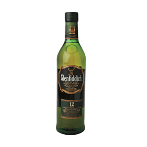 Whiskey Glenfiddich yr
