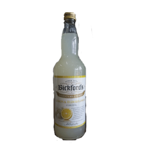 Bickfords Cordial Lemon Elderflower